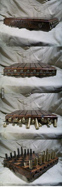 Pretty cool chess set!