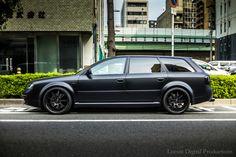 locustdigital:  Presence: Audi RS6 Avant Matte Black paint, Horie Osaka
