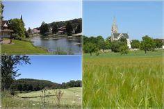 Römerstein egy diverzifikált közösség a Sváb-Alb.