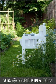 Awesome -  | Check out these other super cool ideas for popular garden benches here at yardpins.com | #gardenbenches #benches #outdoorseating #gardens #gardening #botany #horticulture #flowers #trees #plants