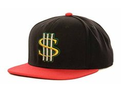 b9d15d107fb adidas Hat Cash Money Strapback Adjustable Cap OSFA Black Red adidas http
