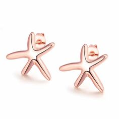 Cheap earings fashion jewelry, Buy Quality earrings jewelry directly from China earrings stud Suppliers: JEWELS Rose gold Color Personality popular starfish Big Earrings Studs Fashion Stainless Steel Earring Jewelry for Women Starfish Earrings, Rose Gold Earrings, Women's Earrings, Cheap Earrings, Simple Earrings, Simple Jewelry, Fashion Earrings, Fashion Jewelry, Women Jewelry