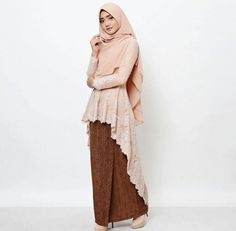 Model kebaya Kebaya Modern Hijab, Kebaya Hijab, Batik Kebaya, Batik Dress, Model Kebaya Modern Muslim, Model Kebaya Brokat Modern, Muslim Fashion, Hijab Fashion, Fashion Dresses