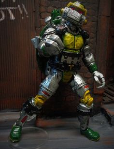 TMNT Metalhead (Teenage Mutant Ninja Turtles) Custom Action Figure