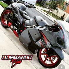 Custom Street Bikes, Custom Sport Bikes, Custom Motorcycles, Futuristic Motorcycle, Futuristic Cars, Custom Hayabusa, Suzuki Hayabusa, Classic Motors, Sportbikes