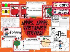 Kinder Confections! Apple Theme Unit