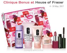 House of Fraser bonus time is going on now (4 - 20 May). http://clinique-bonus.com/united-kingdom/