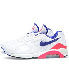 7ad51787b3f Buy the Nike Air Max 180 OG in Sail & Ultramarine from leading mens fashion  retailer END.