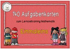 Das Einmaleins noch intensiver üben Teaching Materials, Math Games, Math Lessons, Kids Learning, Teaching Kids, Math Tutor, Math 2, School Teacher Student, Multiplication Tables