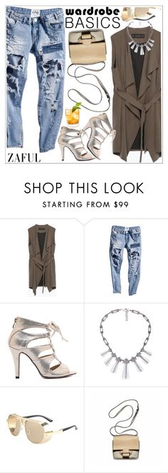 """""""Zaful"""" by teoecar ❤ liked on Polyvore featuring Zara, Reed Krakoff and zaful"""