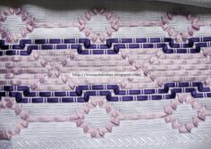 More ribbon weaving Huck Towels, Swedish Weaving Patterns, Swedish Embroidery, Charts And Graphs, Crochet Cross, Weaving Projects, Cross Stitch Charts, Ribbon Embroidery, Fun Crafts