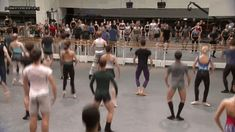 passionatedancing:  the Royal Ballet class
