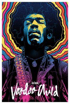 'Jimi Hendrix: Voodoo Child' by Grzegorz Domaradzki (aka Gabz)