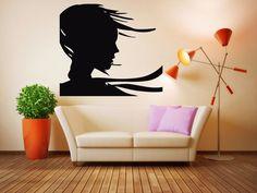 Wall Room Decor Art Vinyl Decal Sticker Mural Hair Beauty Salon Large Big AS560 #3M