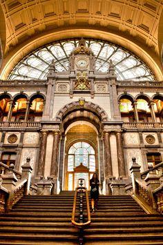 Antwerp Station - Antwerp, BelgiumCopyright Travis Feldman Photography