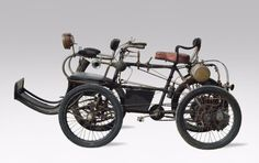 1901 Phébus Quadricycle
