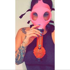 Gas mask bong from www.shopstaywild.com Weed Bong, Puff And Pass, 420 Girls, Pipes And Bongs, Up In Smoke, Stoner Girl, Smoking Weed, Trap, Cannabis