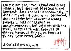 This is true love. the only deepest love. the love you work on everyday.