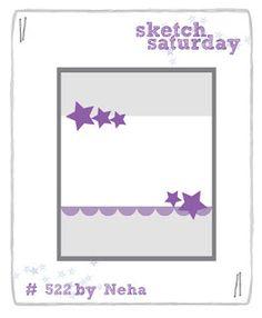 Sketch Saturday: Week #522 with Just Me Digital Stamps