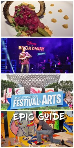 The complete epic guide to Disney's newest festival - Epcot International Festiva of The Arts, running Jan 13 - Feb 20, 2017. Don't miss it! This is everything you need to know to enjoy this one of a kind event!  http://goepicurista.com/epic-guide-2017-epcot-international-festival-of-the-arts/