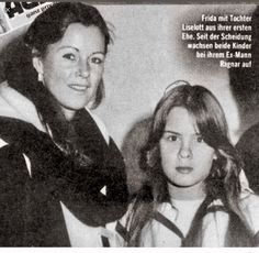 Anni frid and sweet Daughter Lise Lotte