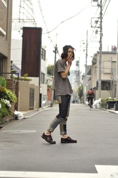 ICCHO STYLE BLOG -TOKYO STREET FASHION MAGAZINE -: ワタロー -Clear growth which is visible-