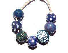Ceramic beads Http://www.etsy.com/shop/grubbi