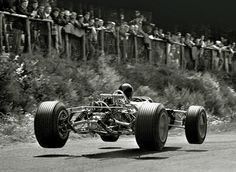 rules & regulations …Drivers must use the track at all times. […] A driver will be judged to have left the track if no part of the car remains in contact with the track. Jim Clark, Lotus-Ford 49, 1967 German Grand Prix, Nürburgring
