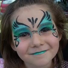 Mermaid Face Paint for the birthday party