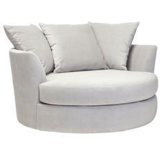 I love this comfy movie chair! Cuddler Chair from Z Gallerie #zgallerie