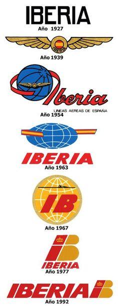 Breve historia de Iberia   Gaceta Aeronautica: Airline Logo, Airline Travel, Old Posters, Icon Package, Vintage Airplanes, Nose Art, Vintage Travel Posters, Comic Books Art, Vintage Advertisements