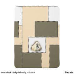 "swan chick - baby deken, : lief en schattig zwaan zwanekuiken kuiken schattig lief baby kinderen kind watervogel vogel swan ""swan chick"" chick cute sweet baby children child waterfowl bird ""ugly duckling"""