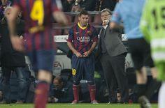 Vuelve la mirada asesina de Messi