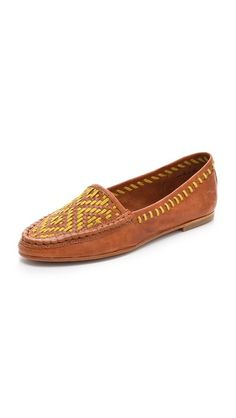 Joie Aliso Woven Loafers