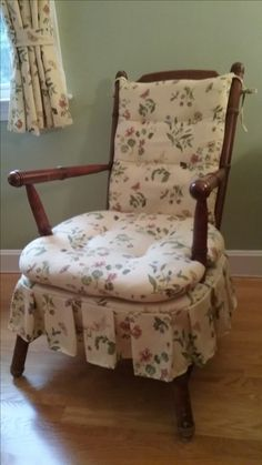 Sold Vintage Child Solid Wood Rocking Chair W Ladder