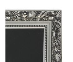 Silver Framed Chalkboards - lovely addition to the home. Kitchen Blackboard, The Porter, Framed Chalkboard, Christmas Gift Guide, Blackboards, Summer Activities, Beautiful Interiors, Silver, Gifts