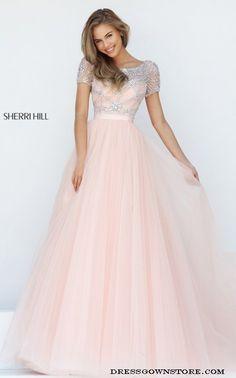 sherri hill 50710, dress, and beaded a-line dress image