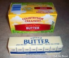 Double your butter by whipping it with equal parts water.