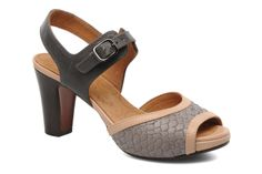Coleta Chie Mihara (Gris) : livraison gratuite de vos Sandales et nu-pieds Coleta Chie Mihara chez Sarenza