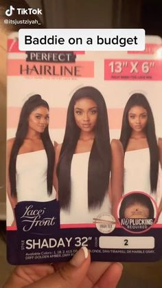 Black Girls Hairstyles, Pretty Hairstyles, Pretty Hair Weave, Lace Front Wigs, Lace Wigs, Reverse Ombre Hair, Edges Hair, Natural Hair Styles For Black Women, Synthetic Wigs