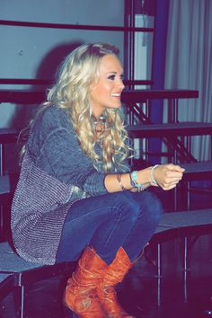 Carrie's everyday style...Everything about this I LOVE!