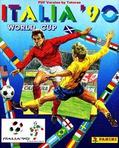 Italia 1990-Álbum de barajitas
