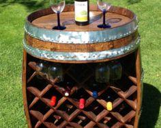 Barril de vino estante del vino