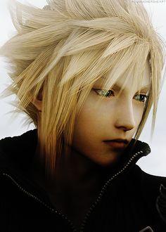 Cloud Strife of Final Fantasy VII: Advent Children Complete
