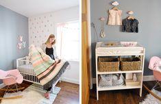 Una habitación en tonos pastel de estilo nórdico | Coco y Manuela
