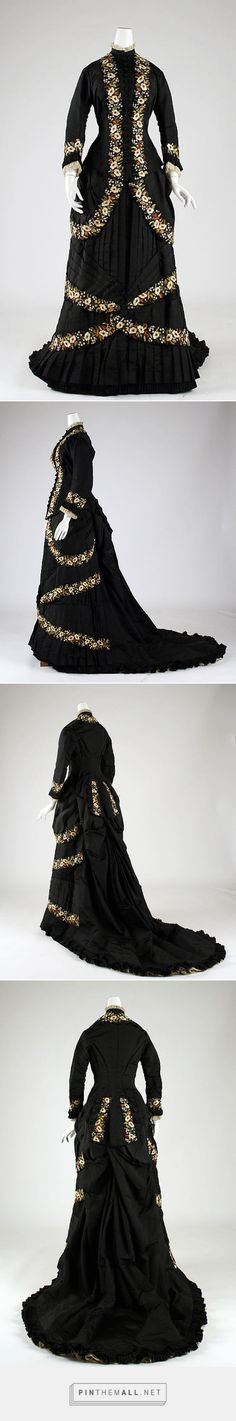 Dinner dress by Mon. Vignon 1878-79 French | The Metropolitan Museum of Art