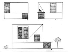 Idea #art #design #architecture #drawing #sketch #frontelevation