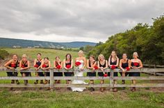 Part classic country and part all American style, this wedding has a beautiful white and red theme running through it. Taking place at Mountain Acres Lodge in central Pennsylvania this wedding features a stunning bride in white with a bouquet of red roses along with several other red and white wedding details. Thanks to Dyanna …