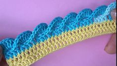 Watch the video «Crochet border Pattern» uploaded by iShare on Dailymotion.