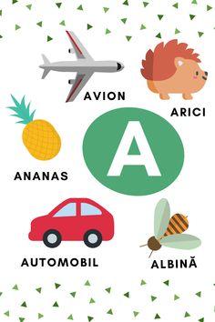 Learning The Alphabet, Educational Activities, Kids Education, Kindergarten, Letters, School, Fun, Romania, David